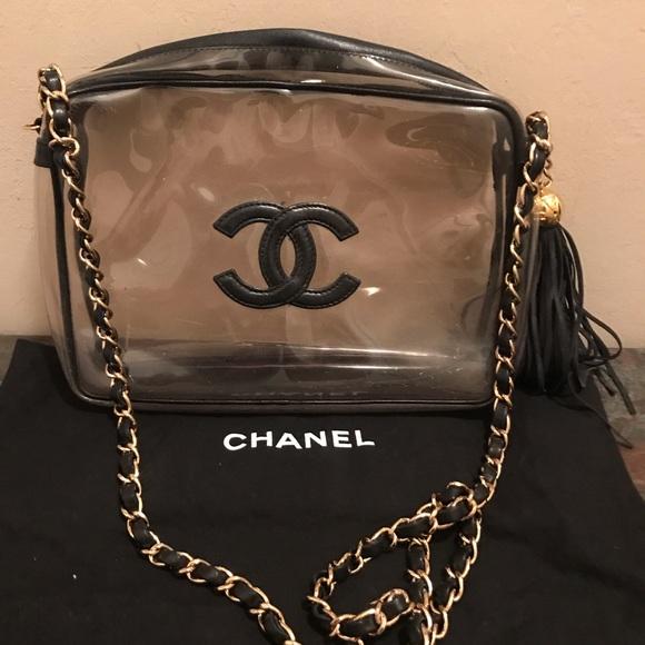 ab6ef040968d CHANEL Handbags - Clear Chanel Crossbody